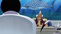 Sengoku hablando con Kong