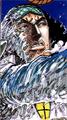 Kuzan en el manga a color