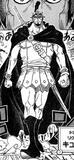 Kyros, Commandant de L'Armée Royale de Dressrosa (25 ans)