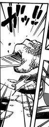 Luffy bierze fragment lustra
