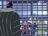 Luffy rencontre Crocodile