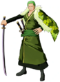 One Piece Unlimited World Red Zoro DLC 1