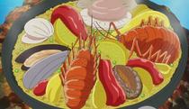 Panz Fry's Volcano Food