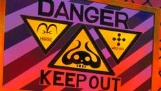 Punk Hazard Keep Out Sign-1-