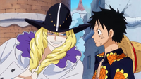 Cavendish And Luffy Talking