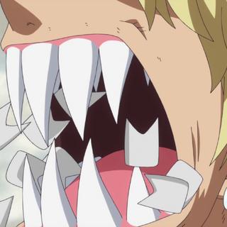 I denti da pesce guerriero di Dellinger