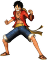 Luffy Pirate Warriors Post Ellipse