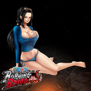 One Piece Burning Blood Swimsuit Nico Robin (Artwork)