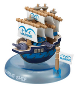 One Piece Wobbling Pirate Ship Collection Marine Battleship
