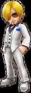 Sanji White Suit Thousand Storm