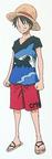 Luffy Tampilan Ambisi Z