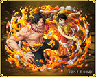 TC1984 Ace and Luffy
