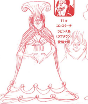 Charlotte Cornstarch Manga Concept Art