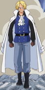 Sabo Levely Arc Outfit
