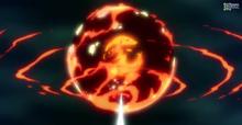 Esfera de Metal Fundido