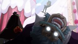 Katakuri uccide Jigra