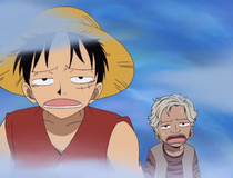 Rapanui and Luffy Stuck in the Mist