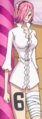 Tercera vestimenta de Reiju en el arco de Whole Cake Island