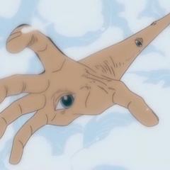 Robin crea degli occhi sul braccio di Rufy