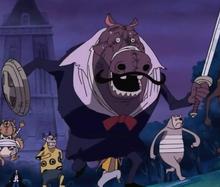Gallant Hippo Zombie