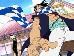 Kabaji sconfitto