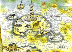 Map of the Sky Ocean