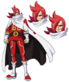 Modelo de Ichiji en el anime