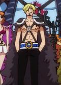 Sanji Cinquième Tenue Arc Wano