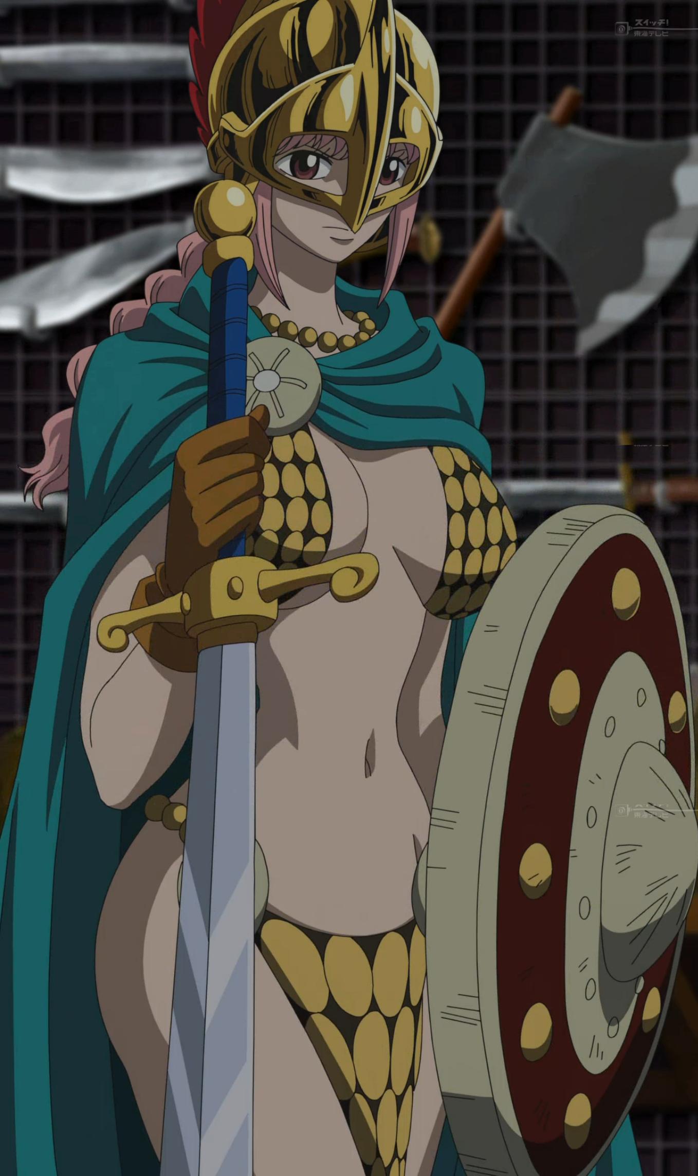 Imagen - Gladiadora Rebecca.png   One Piece Wiki   FANDOM ...
