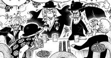 Los de Sombrero de Paja de incógnitos