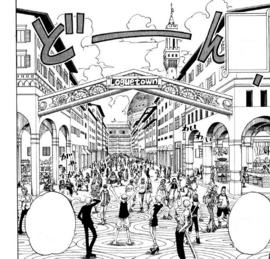 Loguetown Manga Infobox