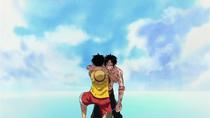 Momen Terakhir Luffy dan Ace