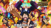 One Piece Film Gold End Card