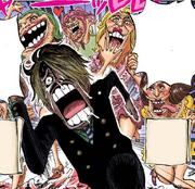Sanji in hell