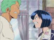 Tashigi and Zoro