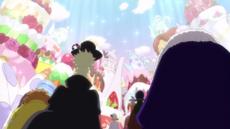 Los emperadores llegan a la fiesta del té