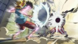 Luffy vs el Minotaurus