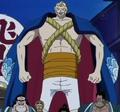 Duval en el Especial Histórico del Jefe Luffy