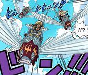 Flying Fish Riders color manga
