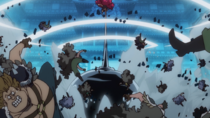 Luffy Attacks the Beasts Pirates