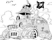 Macro Pirates' Ship