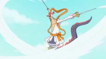 Ryuboshi With His Swords