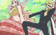 Sanji and Shirahoshi