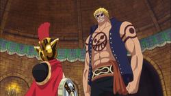Luffy And Bellamy Reunite in Dressrosa