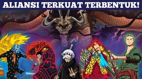 SANGAR! ALIANSI LUFFY dan KID Terbentuk dan bergeraknya ARMADA TOPI JERAMI!! - One Piece 923