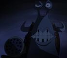 Scratchmen Apoo Speaking Through Kaido's Den Den Mushi