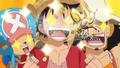 Wake Up! Chopper, Luffy et Usopp Sunny