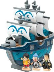 CharaBankPirateShipSeries-LuffyMarineShip