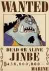 Jinbe's Current Wanted Poster