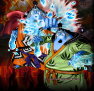 Jinbe Pre-Post Timeskip Burning Blood